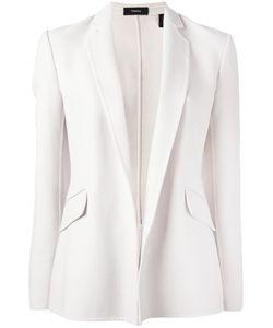 Theory | Flap Pockets Open Blazer 2 Polyester/Polyurethane/Spandex/Elastane/Virgin Wool