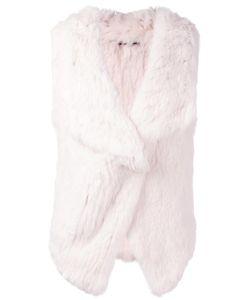 Yves Salomon Accessories | Draped Gilet 36 Rabbit Fur