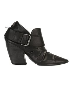 Marsell | Marsèll Buckled Rear Zip Boots 40 Leather/Rubber