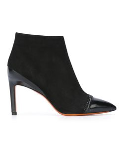 Santoni | Ankle Boots 36 Leather/Suede