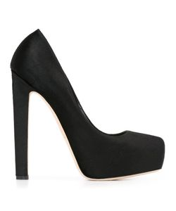 Brian Atwood | New Maniac Pumps 36 Leather/Calf Hair