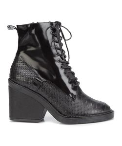 Robert Clergerie | Bono Boots 38.5 Leather/Rubber