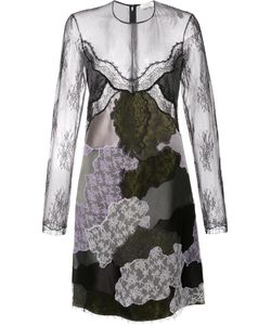 Nina Ricci | Patchwork Embroidered Panel Dress 38 Silk/Polyamide/Viscose