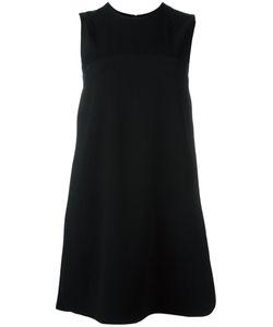 Victoria, Victoria Beckham | Victoria Victoria Beckham Back Button Dress 6 Silk/Acetate/Viscose/Wool