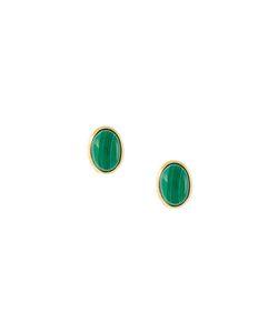 WOUTERS & HENDRIX   Malachite Stud Earrings