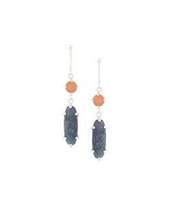 WOUTERS & HENDRIX   My Favourite Sunstone And Iolite Earrings