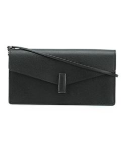 Valextra | Flap Closure Clutch Bag