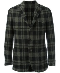 GABRIELE PASINI | Checked Blazer 46 Mohair/Wool/Alpaca
