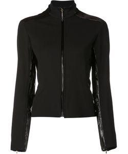 Nina Ricci | Trimmed Zip-Up Jacket 36 Polyamide/Spandex/Elastane/Viscose