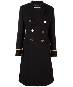 Givenchy | Military Style Long Coat 36 Viscose/Wool