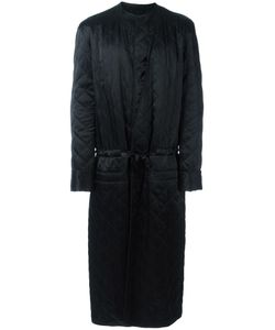 Haider Ackermann | Shawl Lapel Mid Coat Small Cotton/Polyester/Rayon