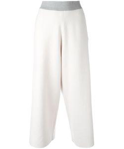 Fabiana Filippi | Straight Cropped Trousers 48 Cotton/Polyester/Spandex/Elastane/Pbt Elite