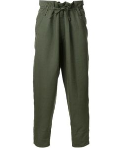 Haider Ackermann | Drop Cropped Trousers Xs Cotton/Linen/Flax/Mohair