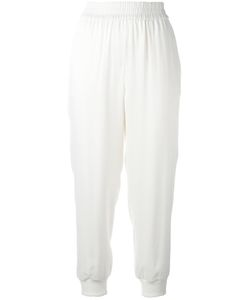 DKNY | Elasticated Trousers Small Polyester/Viscose/Merino
