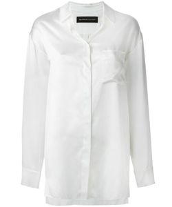 Alexandre Vauthier   Silk Satin Shirt 38 Silk
