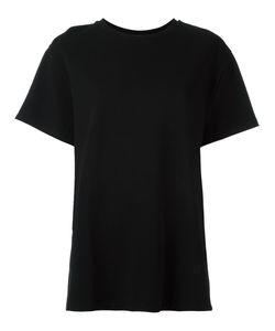 Toteme | Plain T-Shirt Small Polyamide/Spandex/Elastane/Viscose