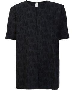 Damir Doma | Tonal Motif Loose-Fit T-Shirt Large Cotton/Virgin