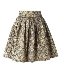 LEO | Skater Skirt Small Cotton/Polyester/Acetate