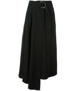 Veronique Leroy | Asymmetric Skirt 36 Silk/Polyamide/Spandex/Elastane/Wool