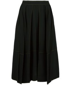 Veronique Leroy | Full Midi Skirt 38 Wool