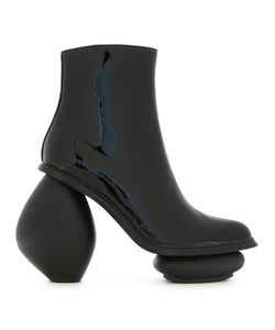 ROBERT WUN | Rosary Boots 40 Patent Leather