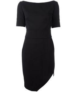 Alexandre Vauthier | Boat Neck Short Dress 40 Wool/Spandex/Elastane/Polyester/Viscose