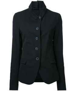 Rundholz   Flap Pockets Fitted Jacket Large Acetate/Viscose/Virgin Wool