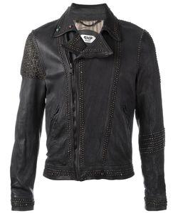 Pihakapi | Embellished Biker Jacket Small Lamb Skin/Viscose