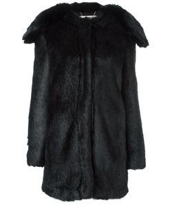 Stella Mccartney | Shawl-Lapel Faux-Fur Coat 40 Modacrylic/Viscose/Cotton