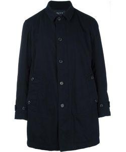 Ahirain | Single Breasted Coat Medium Cotton