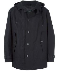 Ahirain | Single Breasted Coat Medium Cotton/Nylon