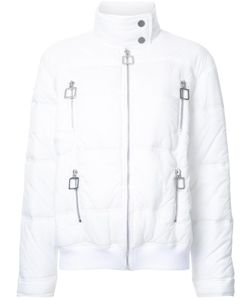 Courreges | Courrèges High Neck Puffer Jacket 36 Cotton/Polyamide/Spandex/Elastane
