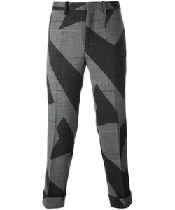 Neil Barrett | Cut-Up Lightning Bolt Trousers 50 Virgin