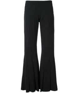 ROBERT WUN | Peplum Flared Trousers 8 Polyester/Spandex/Elastane