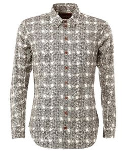 Christopher Nemeth | Rope Print Shirt Small Cotton