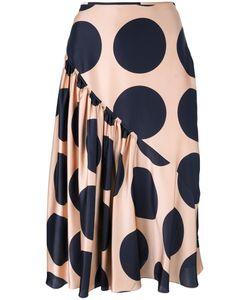 Stella Mccartney | Large Polka Dot Print Skirt 38