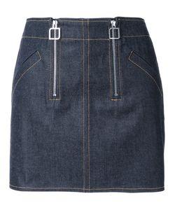 Courreges | Courrèges Double Zip Skirt 36 Cotton