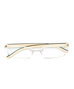 Tag Heuer | Rectangular Shaped Glasses Palladium/Rubber