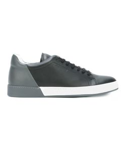 Jil Sander | Lace Up Sneakers 45 Leather/Rubber
