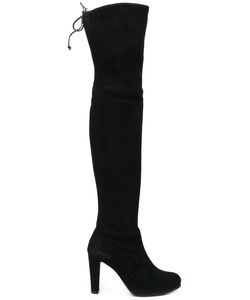 Stuart Weitzman | High Land Boots 40 Leather/Suede/Rubber