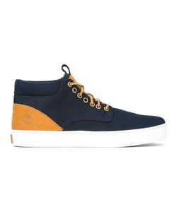 Timberland | Lace-Up Hi-Top Sneakers 8 Leather/Polyester/Rubber