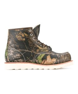Red Wing Shoes | Printed Boots 9.5 Leather/Rubber
