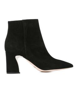 SEBASTIAN MILANO | Ankle Boots 40 Leather/Suede/Rubber