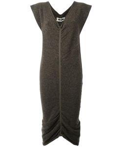 UMA WANG | Gathered Hem Dress Medium Acrylic/Polyamide/Spandex/Elastane/Virgin Wool