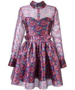 Daizy Shely   Print Dress 40 Polyester