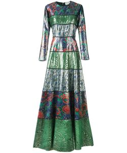 Maison Rabih Kayrouz | Patterned Long Length Dress 40 Silk/