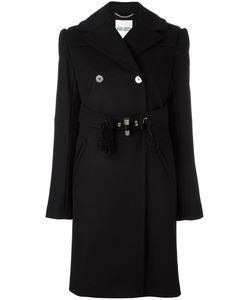 Kenzo | Double Breasted Peacoat 36 Cotton/Polyamide/Acetate/Virgin Wool