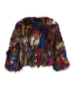 JOCELYN | Short Fur Jacket Small Fox Fur