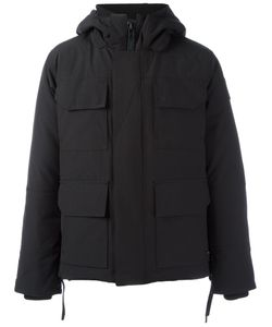 Canada Goose | Zip Up Padded Coat Large Cotton/Feather