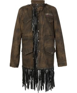 JOCELYN | The Cougar Jacket Small Cotton/Leather/Rabbit Fur